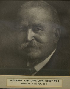 John Davis Long governor john davis long